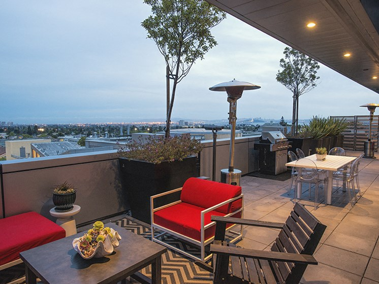 Panoramic Views of Downtown at Berkeley Central, California, 94704