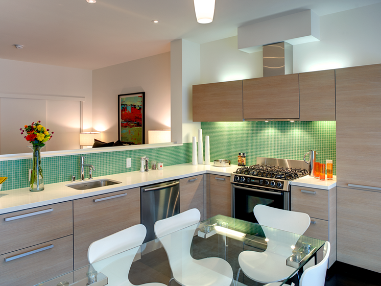 Fully-Equipped Gourmet Kitchens at Berkeley Central, Berkeley, 94704