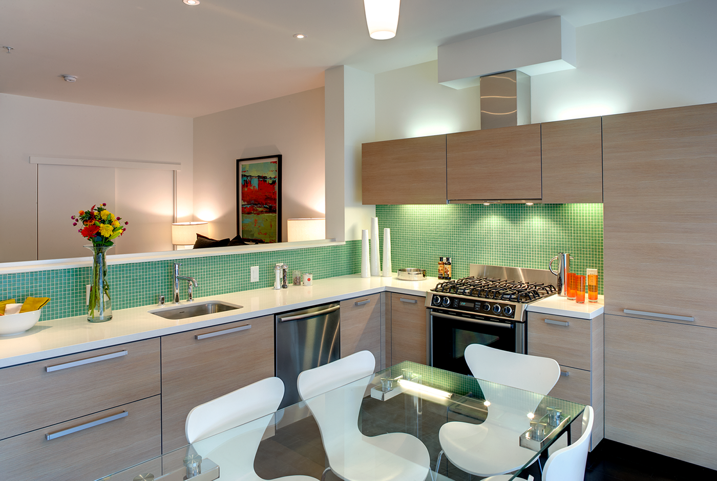 Fully Equipped Gourmet Kitchens At Berkeley Central, Berkeley, 94704