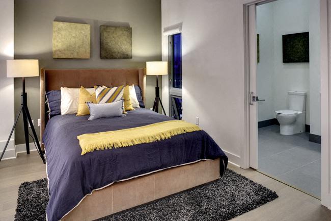 Private Master Bedroom at Berkeley Central, Berkeley, CA, 94704