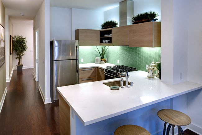 Top-of-the-line Kitchens at Berkeley Central, Berkeley, CA