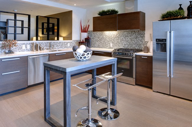 High-End Stainless Steel Appliances at Berkeley Central, Berkeley, 94704