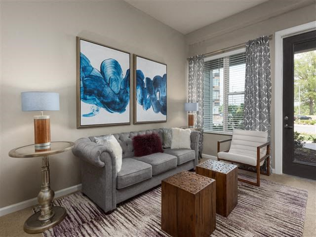 EVO Apartments - Gateway - Living Room