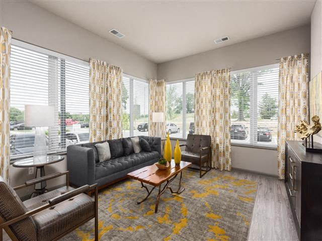 EVO Apartments - Cathedral - Living Room