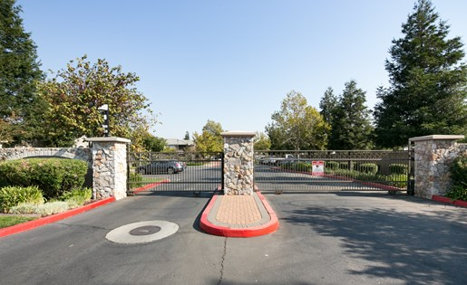 North Pointe Front Entrance, at North Pointe Apartment Homes, Vacaville, 95688