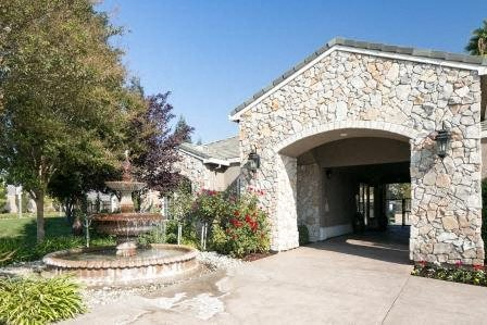Clubhouse Facade, at North Pointe Apartment Homes, Vacaville, CA