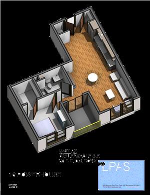 A2 1 Bedroom 1 Bathroom