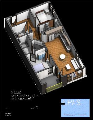 B1 2 Bedroom 2 Bathroom