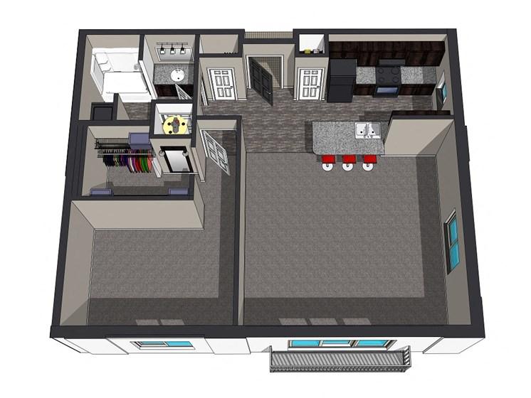 Sierra Suites, Krueger Development, Lincoln, Nebraska, Apartments