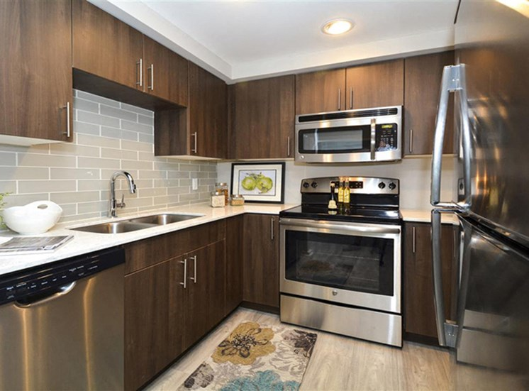 Elegant Kitchen | Apartments in Denver, CO | The Apartments at Denver Place