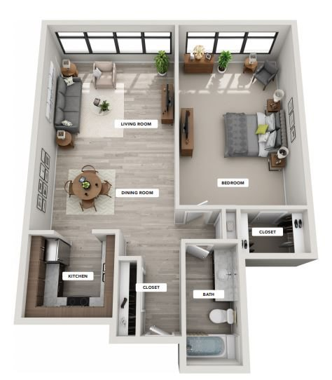 CURTIS Floor Plan 1