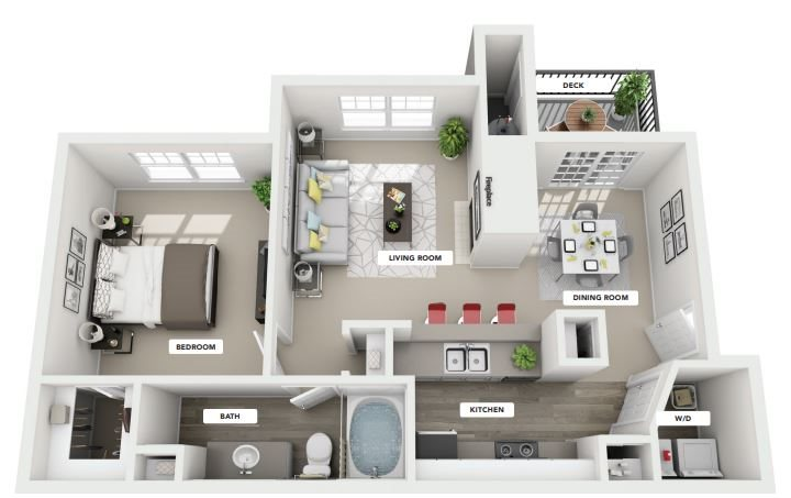 ARROWHEAD Floor Plan 2