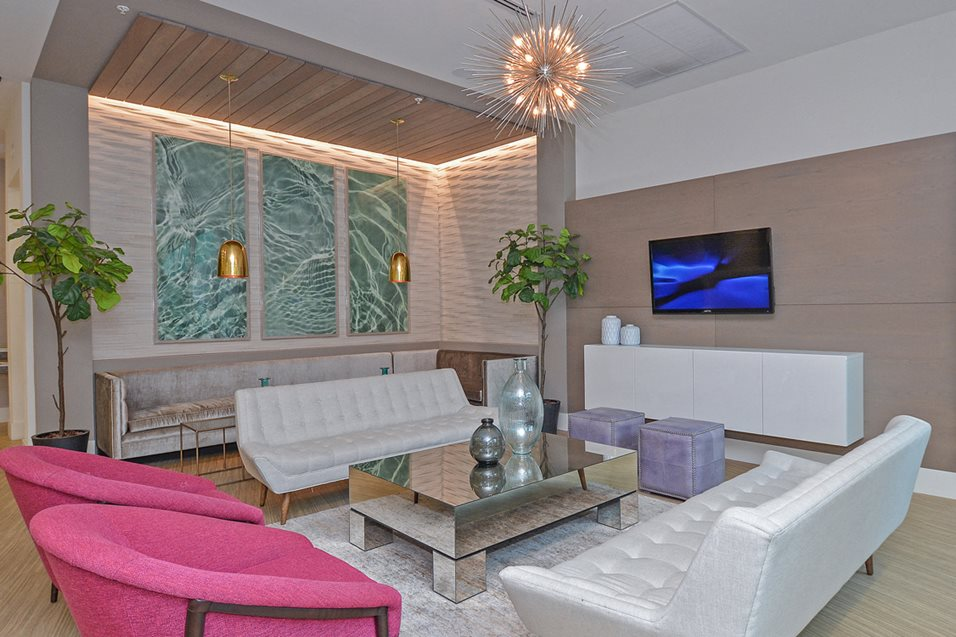 Luxurious Living Room Apartment Homes In Miami Fl The Modern