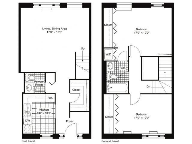 River North Park Apartments Floor Plans Pricing