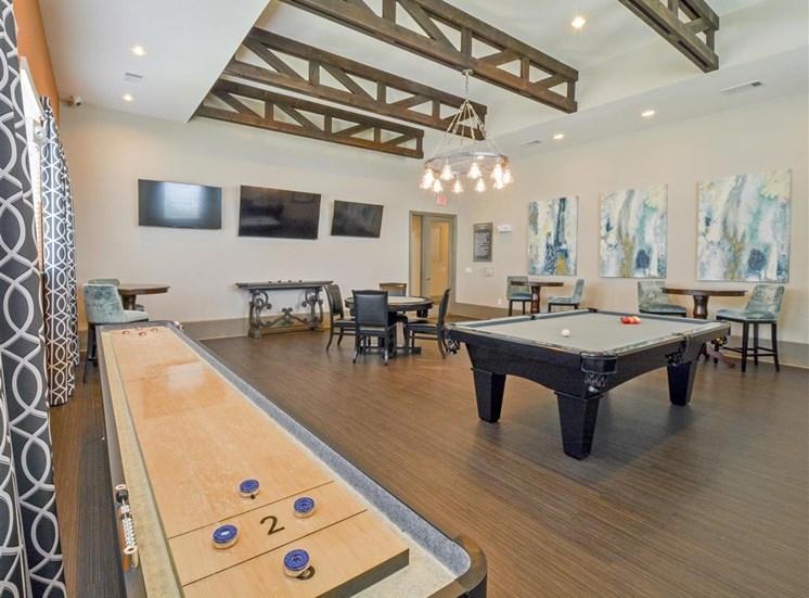 Resident Game Room | Haven at Eldridge Apartments, Houston TX