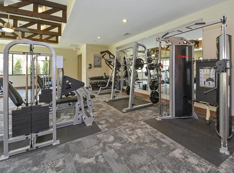 State-of-the-Art Fitness Center | Haven at Eldridge Apartments in TX