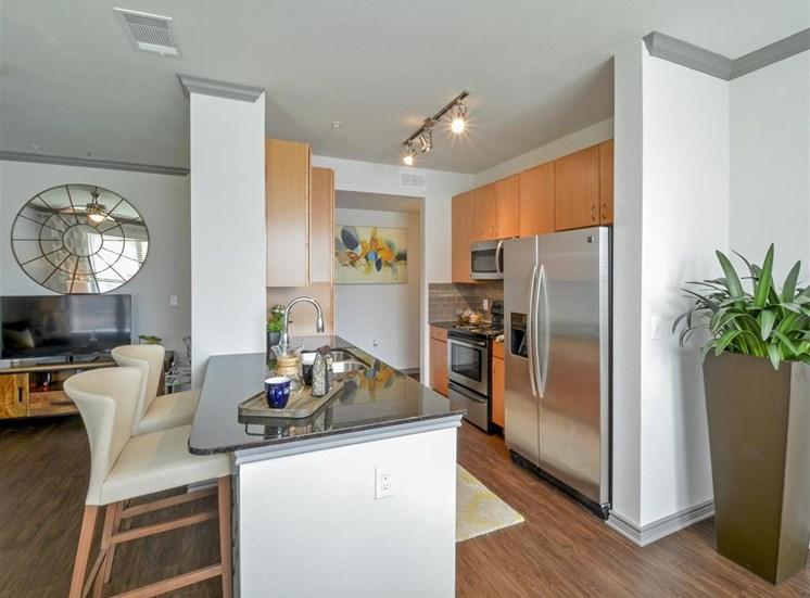 State-of-the-Art Kitchen | Haven at Eldridge Apartments, Houston, TX