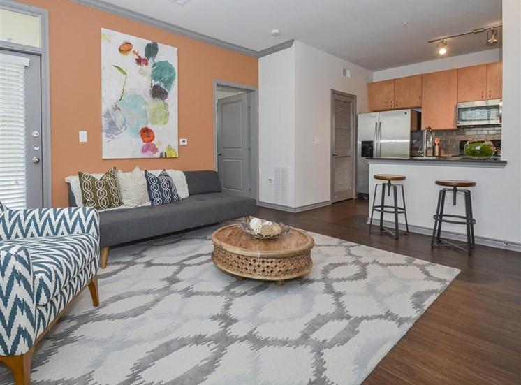 Open Floor Plans | Haven at Eldridge Apartments, Houston TX
