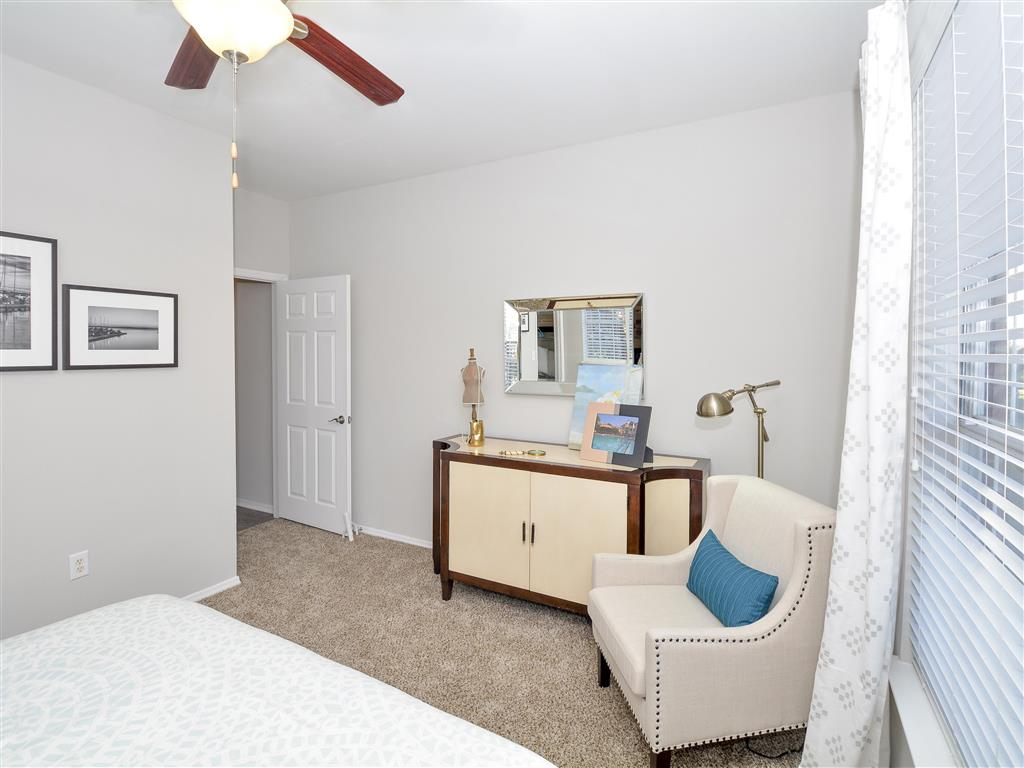 Spacious Bedroom | Charlotte NC Apartment Homes | Addison Park