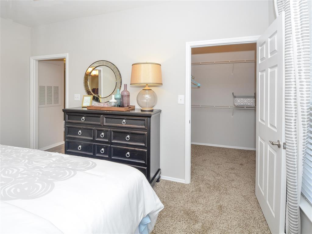 Elegant Master Bedroom | Apartments Charlotte, NC | Addison Park