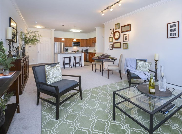 Elegant Living Room   Apartments for rent in Stamford, CT   Glenview House