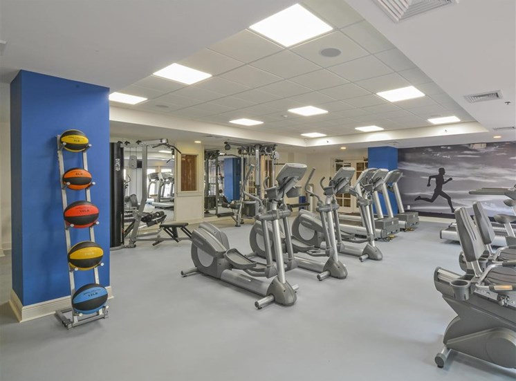 State-of-the-Art Fitness Center | Apartment Homes in Stamford, CT | Glenview House