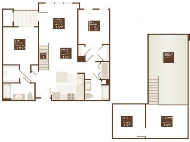 BELKNAP LOFT Floor Plan 14