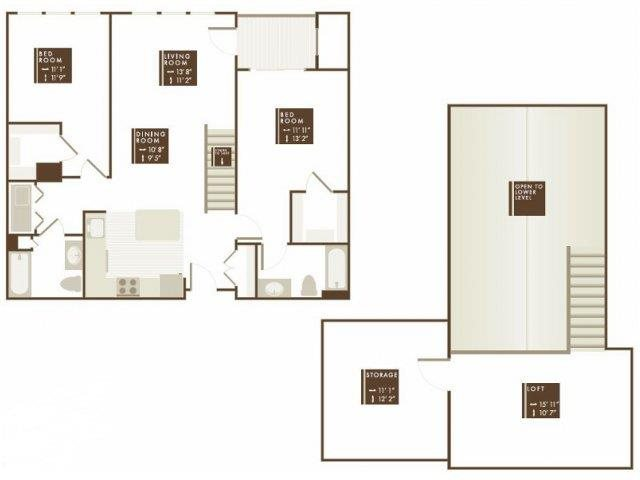 FAYERWEATHER LOFT Floor Plan 16