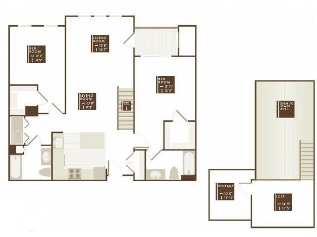 LYNDE LOFT Floor Plan 17