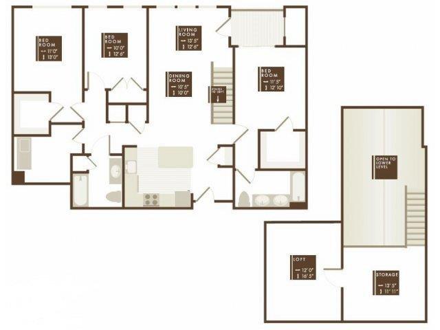 PENWOOD LOFT Floor Plan 25