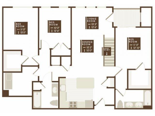 PENWOOD Floor Plan 24