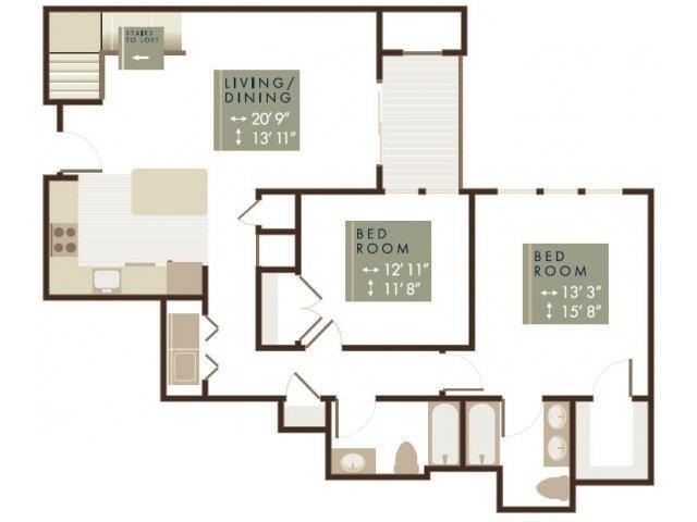 SAYBROOK Floor Plan 12