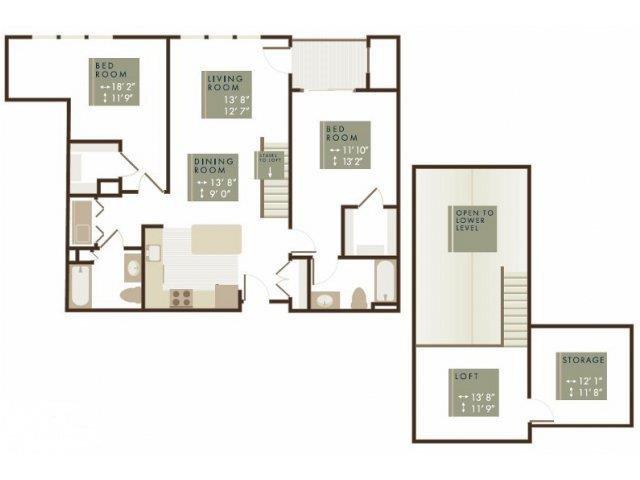 SHERWOOD LOFT Floor Plan 18