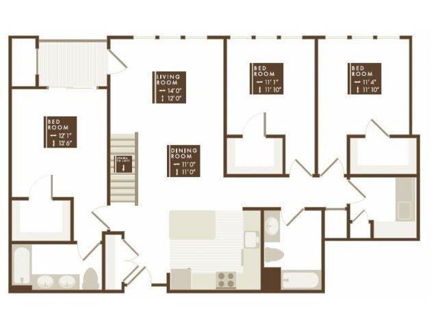 WHARTON Floor Plan 26