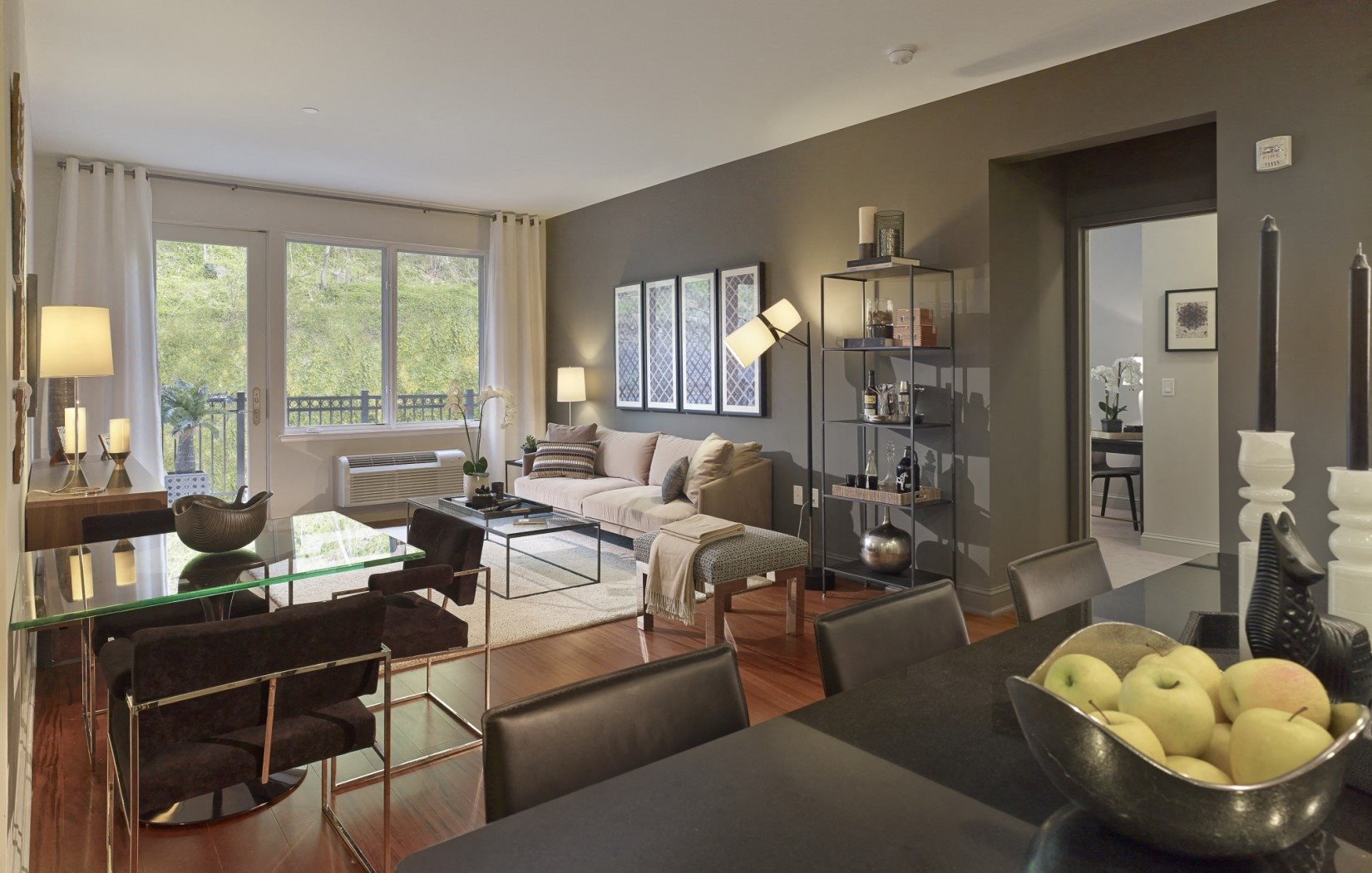wide open living space | Infinity Apartments in Edgewater, NJ