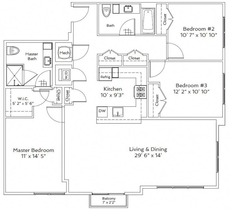 Floor Plans Of 75 Tresser In Stamford, CT