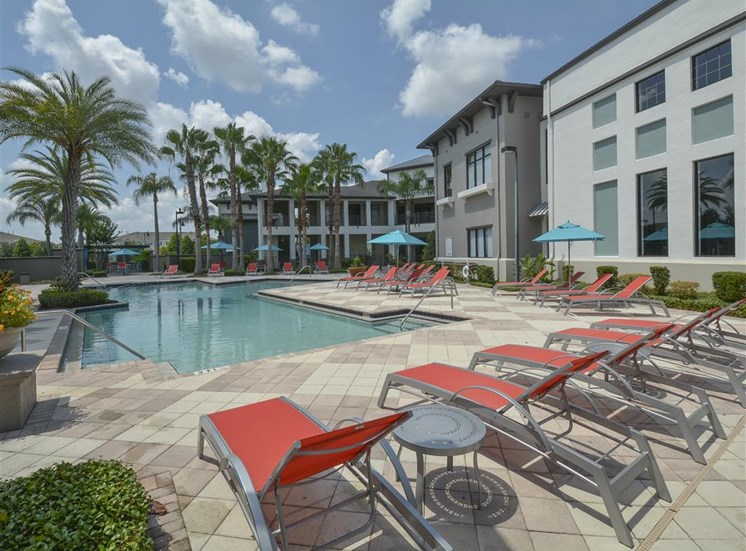 Resort-Style Pool Orlando Florida Apartments for Rent in Millenia