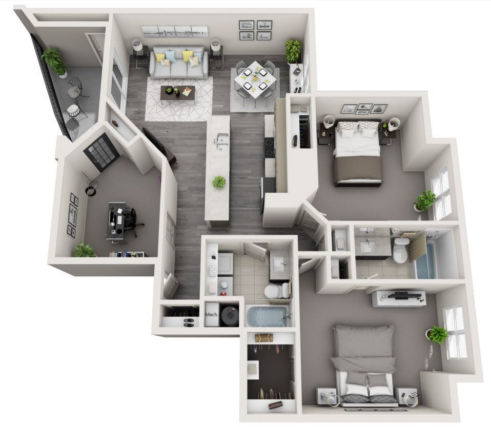 Mount Vernon Apartments Virginia: Floor Plans Of The Citizen At Shirlington Village In