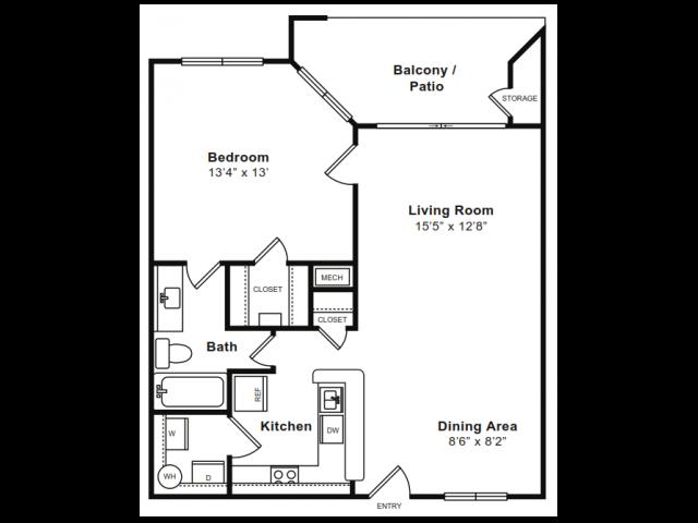 CAPITAL Floor Plan 3
