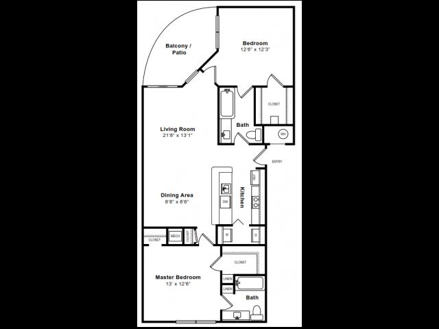 MONTICELLO Floor Plan 9