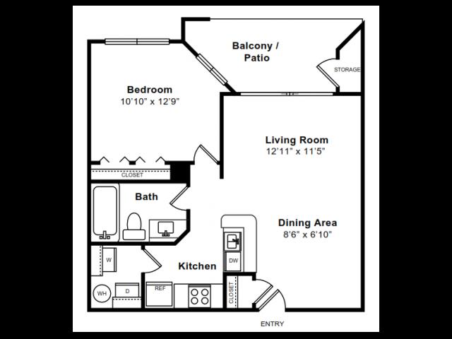 POTOMAC Floor Plan 2