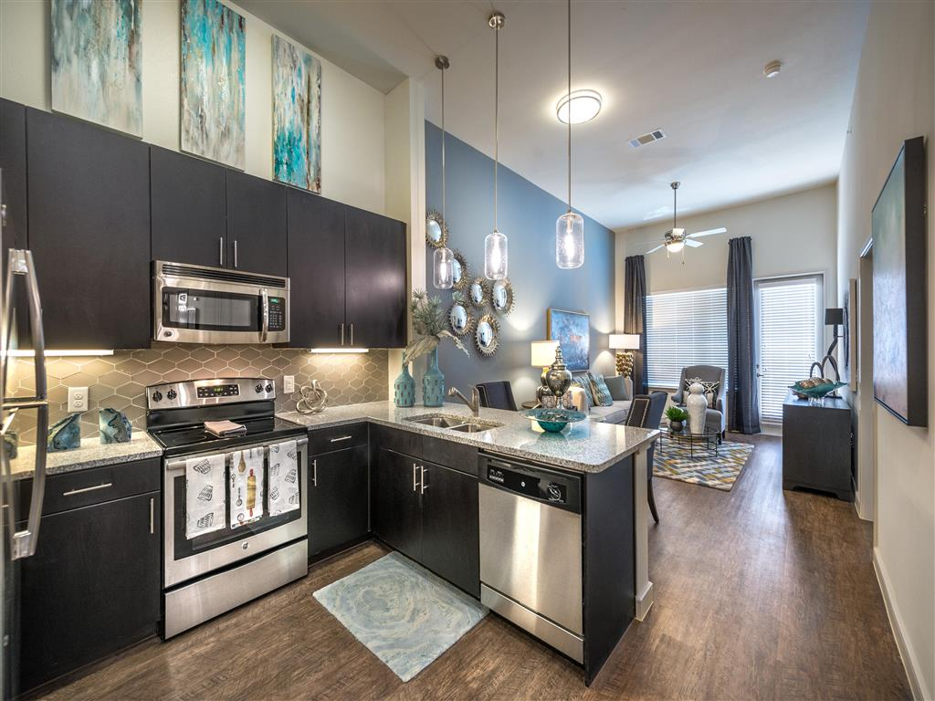 Modern Kitchen | Downtown Dallas Apartments | South Side Flats