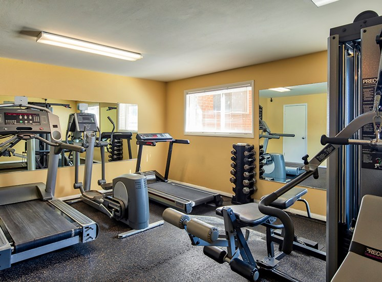 Ashton Square Apartments fitness center