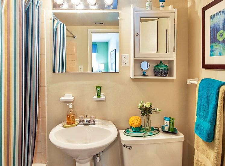bathroom at Ashton Square Apartments