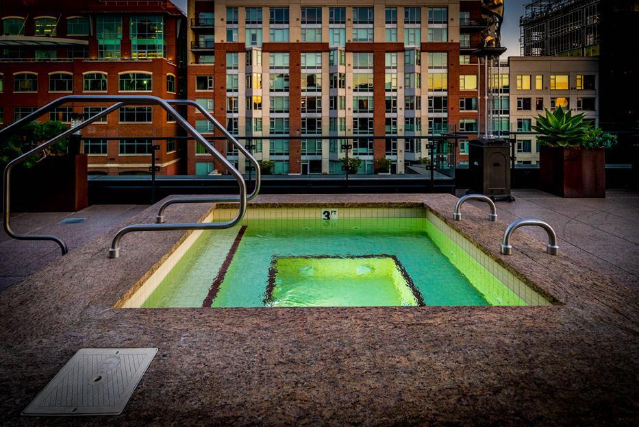 Spa/Hot tub at Arc Light, San Francisco, 94107