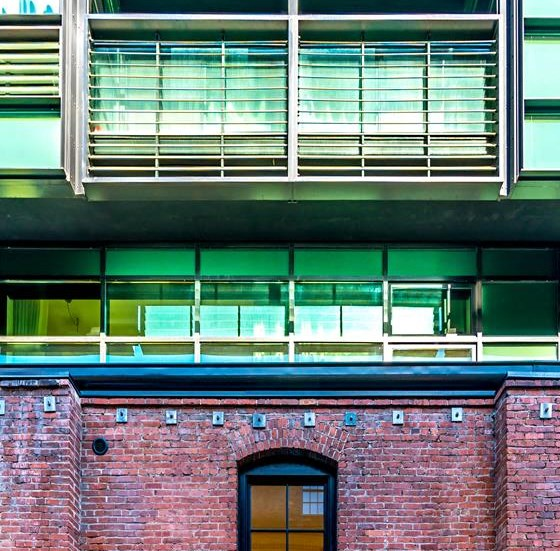 Screened Patio/Balcony at Arc Light, San Francisco,California