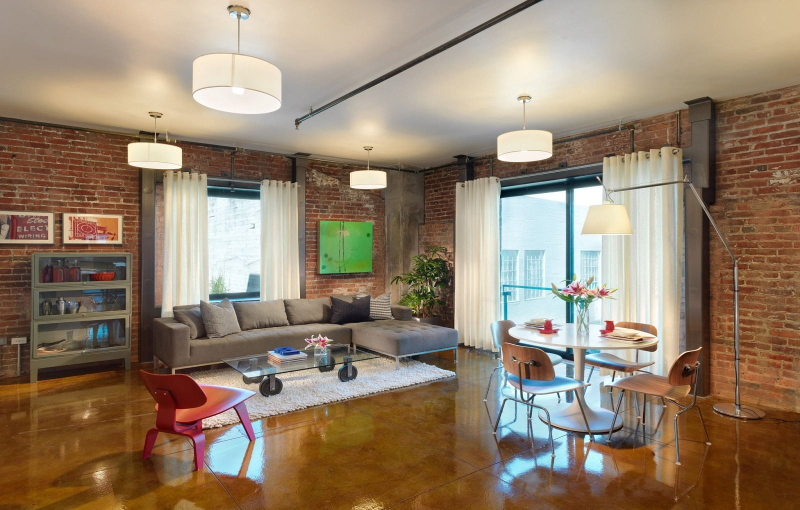 10' Ceilings with Exposed Brick In Many Units at Arc Light, San Francisco, 94107