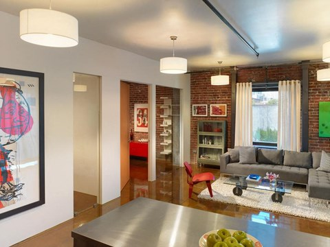 Newly Renovated Clubhouse at Arc Light, San Francisco, CA
