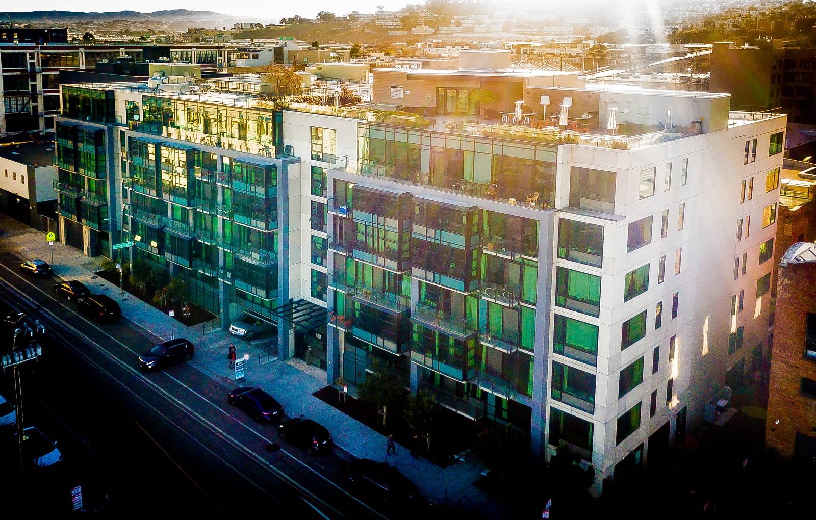 Renovated Building at Potrero Launch California Potrero