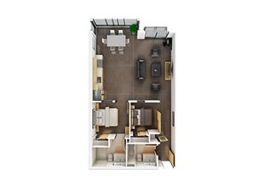 Floor plan at Potrero Launch, California, 94107